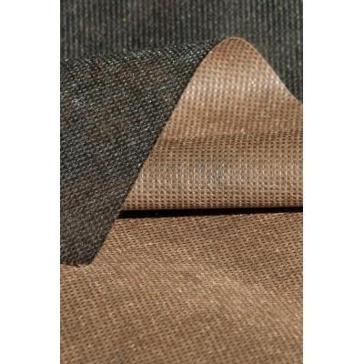 Agrowłóknina dwustronna 50g/m2 0,8mx50m brązowo-czarna - Domek Ogrodnika