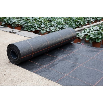 Agrotkanina gęsto tkana czarna 100g/m2, 2,1mx100m - Domek Ogrodnika