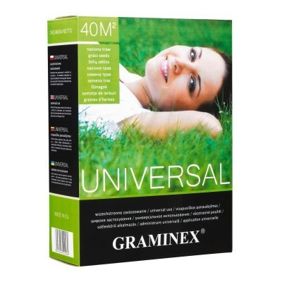 Nasiona TRAWA UNIVERSAL uniwersalna Graminex 4kg