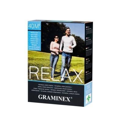 Nasiona TRAWA RELAX zieleń miejska Graminex 10kg