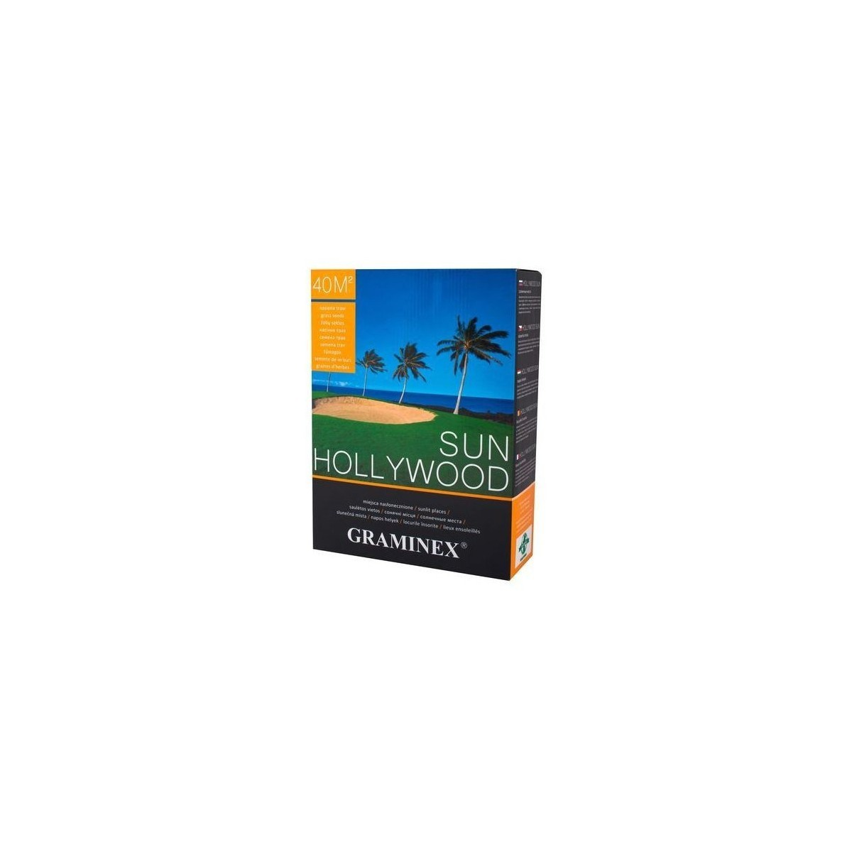 Nasiona traw HOLLYWOOD SUN Graminex 4kg