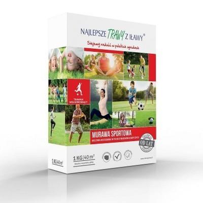 Trawy Z Iławy Trawa Murawa Sportowa Karton 1KG