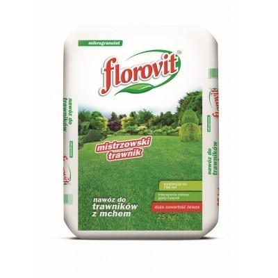 Nawozy do traw florovit do trawników 25kg mech żelazo