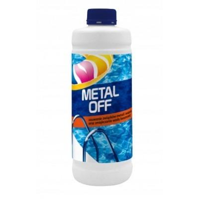 METAL OFF 1L ( usuwanie związków metali i wapnia, zmiękczanie wody basenowej)