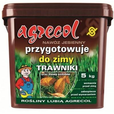 Nawóz Agrecol granu. jesienny do trawników 5kg
