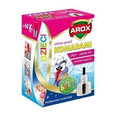 AROX Płyn zapas do elektrofumigatora 60 nocy dla dzieci, 45 ml