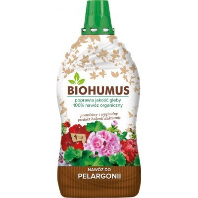 Nawóz do pelargonii BIOHUMUS Agrecol 1L
