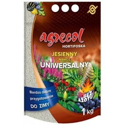 Nawóz uniwersalny Hortifoska do trawnika 1 kg Agrecol