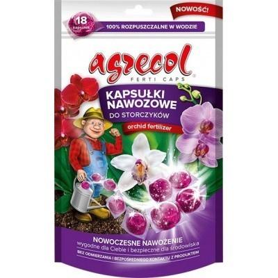 Kapsułki nawozowe do storczyków 18 kapsułek Agrecol
