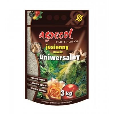 Nawóz uniwersalny Hortifoska do trawnika 3 kg Agrecol
