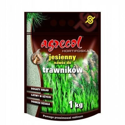 Nawóz jesienny Hortifoska do trawnika 1 kg Agrecol
