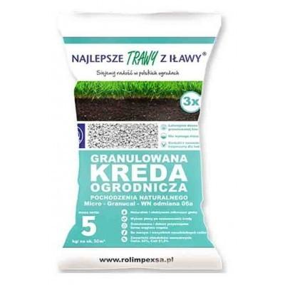 Wapno granulowana kreda ogrodnicza 5kg Micro granucal