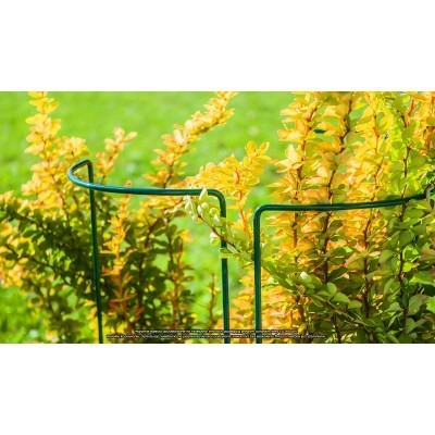 Podpora na kwiaty stalowa 15x45cm rozmiar S ELGarden