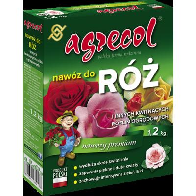 Nawóz do róż granulowany 1,2 kg Agrecol