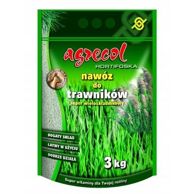 Nawóz do trawników Hortifoska wieloskładnikowy 3 kg Agrecol