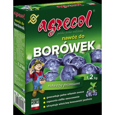 Nawóz mineralny do borówka granulat 1,2 kg Agrecol