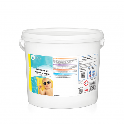 Balancer pH minus -granulat 5kg obniża wartość pH
