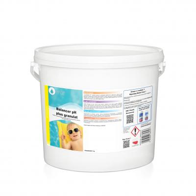 Balancer pH plus - granulat 3kg podwyższa wartość pH
