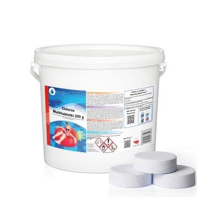 Multitabletki chlorowe duże Chlorox 200 g NTCE 3 kg