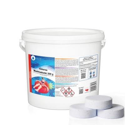 Multitabletki chlorowe duże Chlorox 200 g NTCE 5 kg