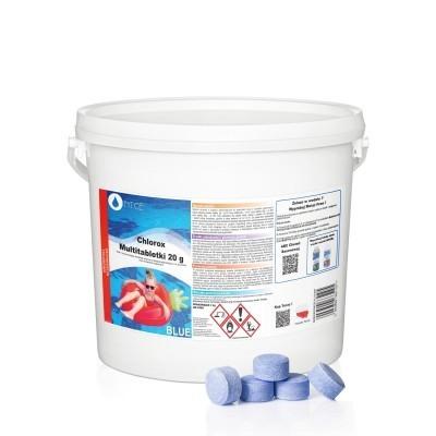 Multitabletki BLUE tabletki chlorowe 20 g NTCE 3 kg
