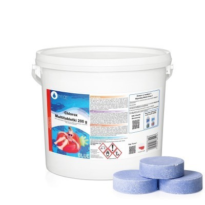 Multitabletki BLUE tabletki chlorowe duże 200 g NTCE 3 kg