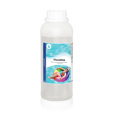 FlockStop preparat płynny koagulacja wody basenowej NTCE 1kg