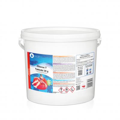 Tabletki chlorowe Chlorox T 20g  3kg NTCE