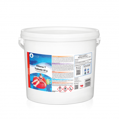 Tabletki chlorowe Chlorox T 20g  5kg NTCE