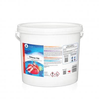 Preparat granulat chlor chemia do basenów Chlorox T56 NTCE 5 kg