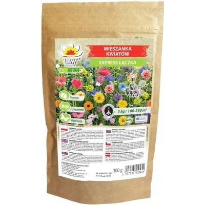 Mieszanka Kwiatów Polnych Kwietna Express Łączka Toraf 500g