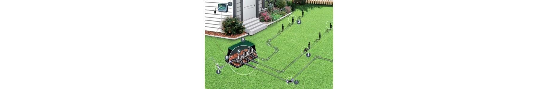 Projekty ogrodów i nawodnień