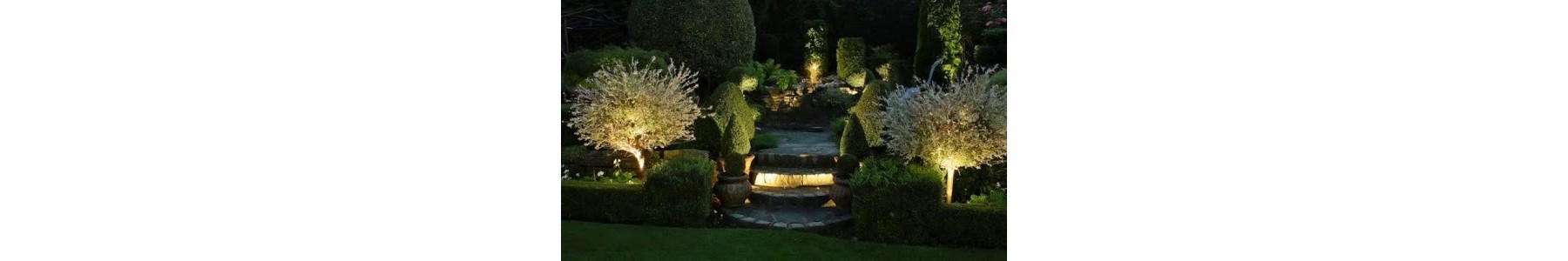 Oświetlenie ogrodu - Lampy zewnętrzne